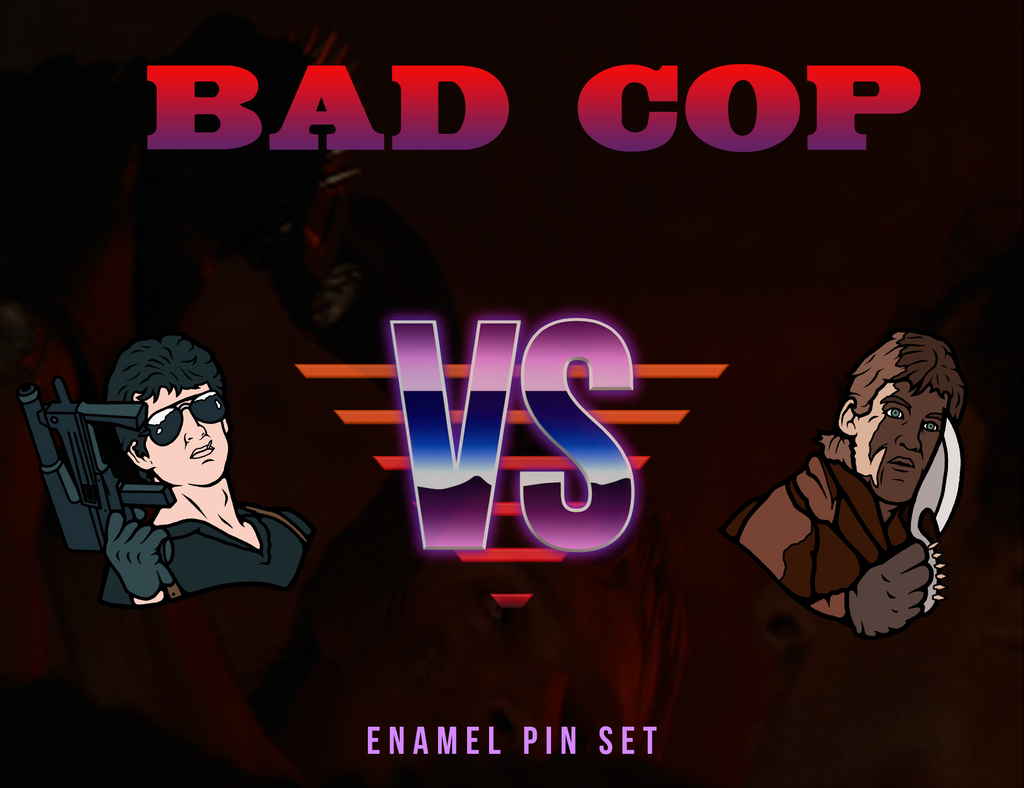 Bad Cop Enamel Pin Set (Pre-order)