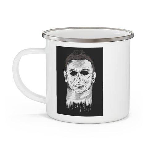 Halloween, movie, coffee mug, print, michael myers