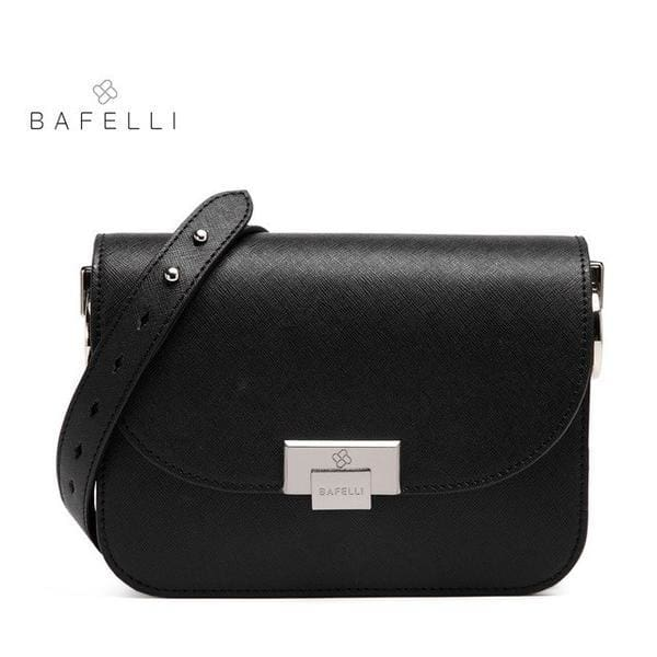 BAFELLI Messenger Bag - Black / 8.5W x 6.5H x 2D - Messenger