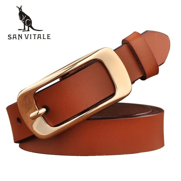 SAN VITALE Vintage Leather Womens Belt - Belt