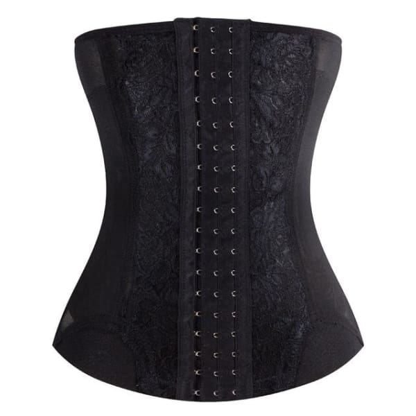 Waist Trainer Corset - Body Shaper - Black / L - Waist Trainer