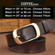 SAN VITALE Vintage Womens Leather Belt - N17062TCoffee / China / 39.25 - Belt