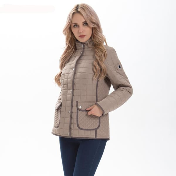 Casual Quilted Coat - Jacket