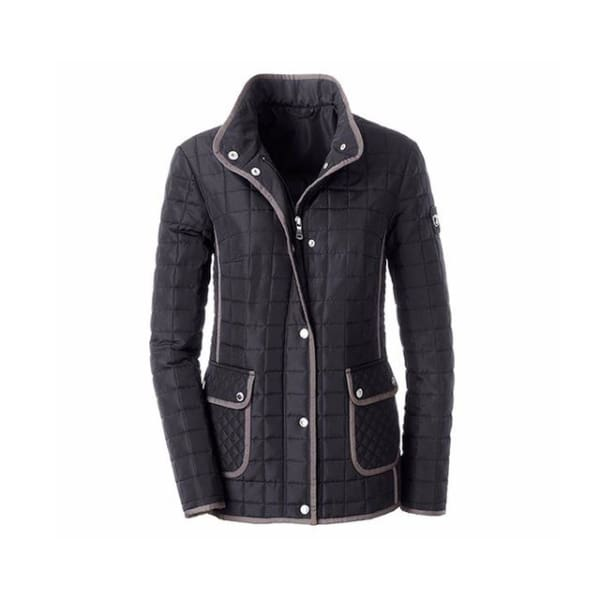 Casual Quilted Coat - Black / S - Jacket