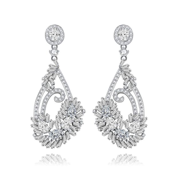 Elegant Wedding Earrings - Drop Earrings