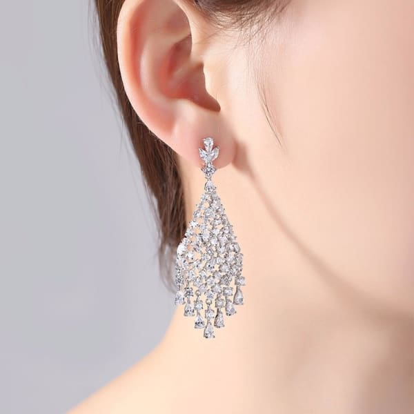 Tassel Chandelier Earrings - Drop Earrings