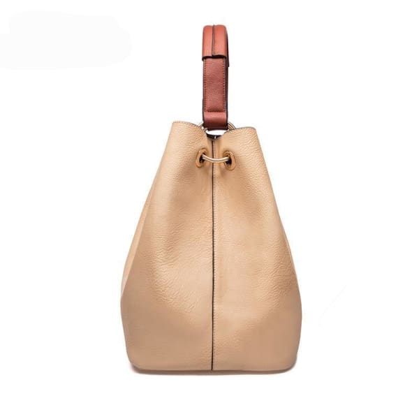 Leather Bucket Bag - Bucket