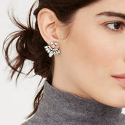 Crystal Ear Jackets - Ear Jacket Earrings