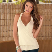 Crochet Back Camisole - Camisole