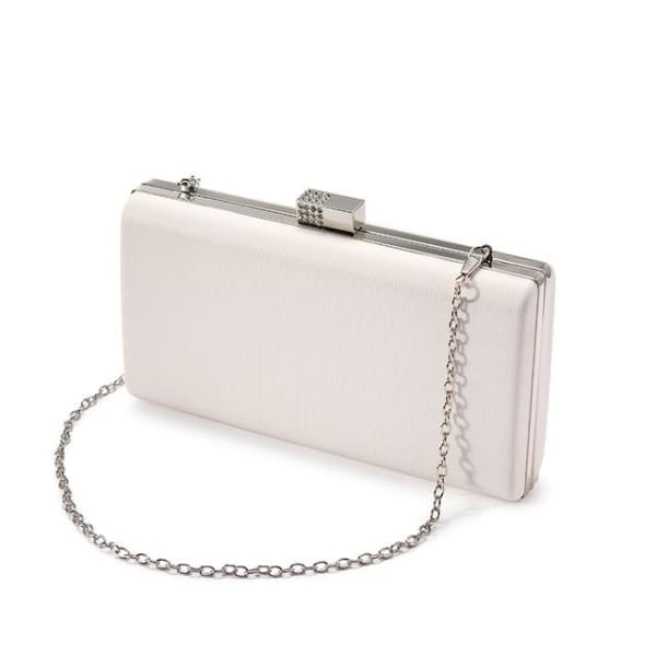 Evening Clutch - Beige / Imported - Clutch