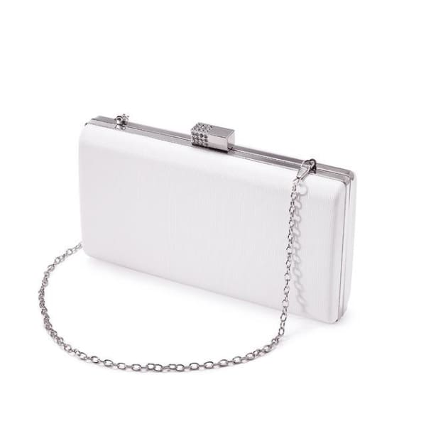 Evening Clutch - White / Imported - Clutch