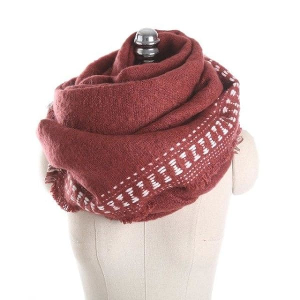 SAN VITALE Cashmere Blend Womens Scarf - SM1746 C3 - Scarf