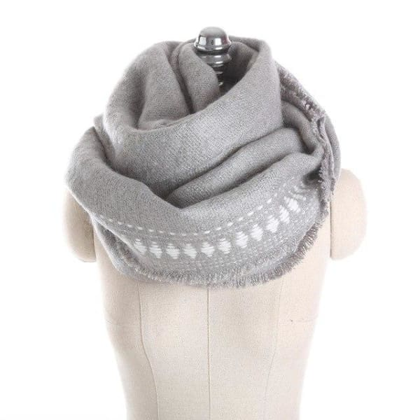 SAN VITALE Cashmere Blend Womens Scarf - SM1746 C6 - Scarf