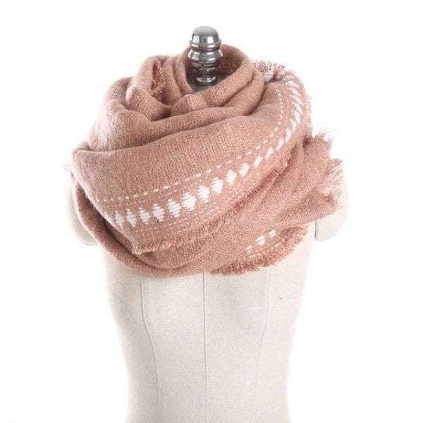 SAN VITALE Cashmere Blend Womens Scarf - SM1746 C7 - Scarf
