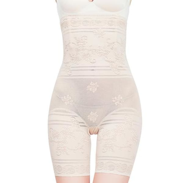 Shapewear Vintage Seamless Full Length - Nude / XXL - Body Shaper