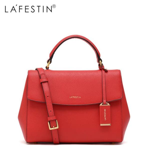 LAFESTIN Envelope Satchel - Red - Satchel