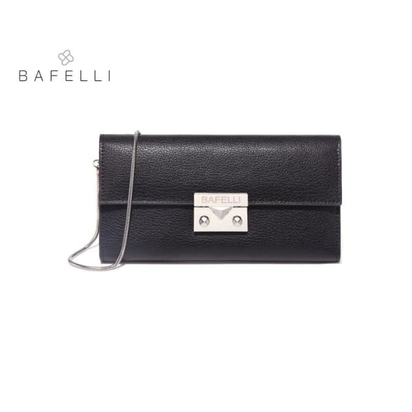 BAFELLI Classic Leather Clutch - Clutch