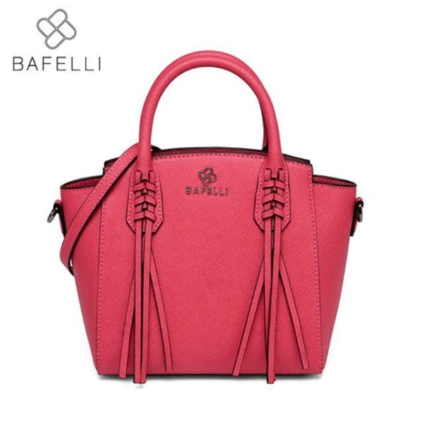BAFELLI Trapeze Bag with Tassels - Hot Pink - Trapeze