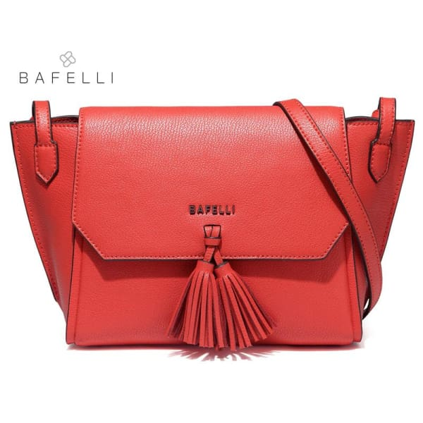 BAFELLI Trapeze Crossbody with Tassels - Trapeze