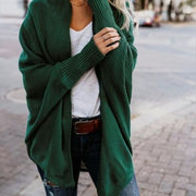 Loose Knit Cardigan - Green / L - Cardigan