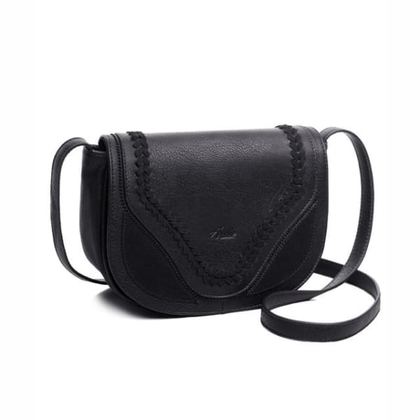 Vintage Saddle Bag - Black / Imported - Saddle Bag