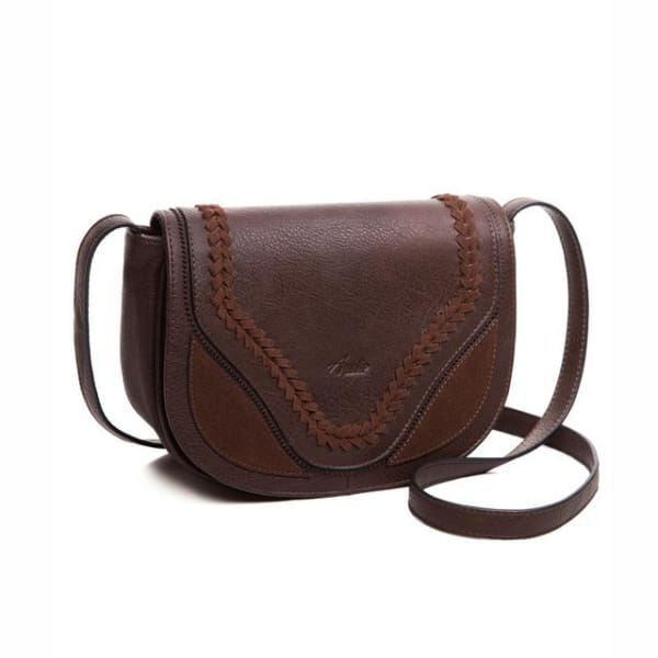 Vintage Saddle Bag - Coffee / Imported - Saddle Bag