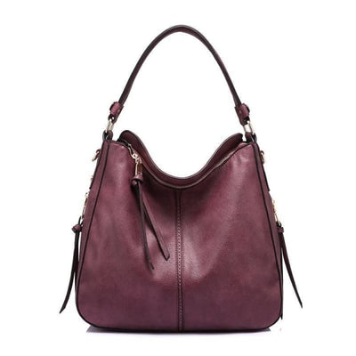 Leather Hobo Bag - Hobo