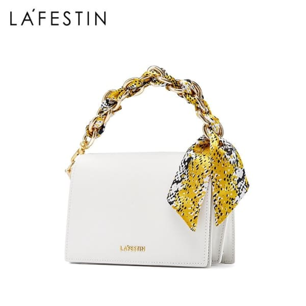 LA FESTIN Crossbody with Chain Strap - Crossbody