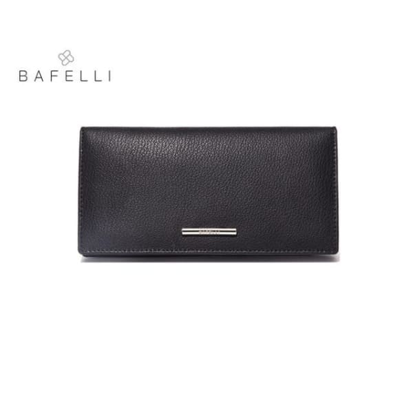 BAFELLI Leather Wallet Large - Black