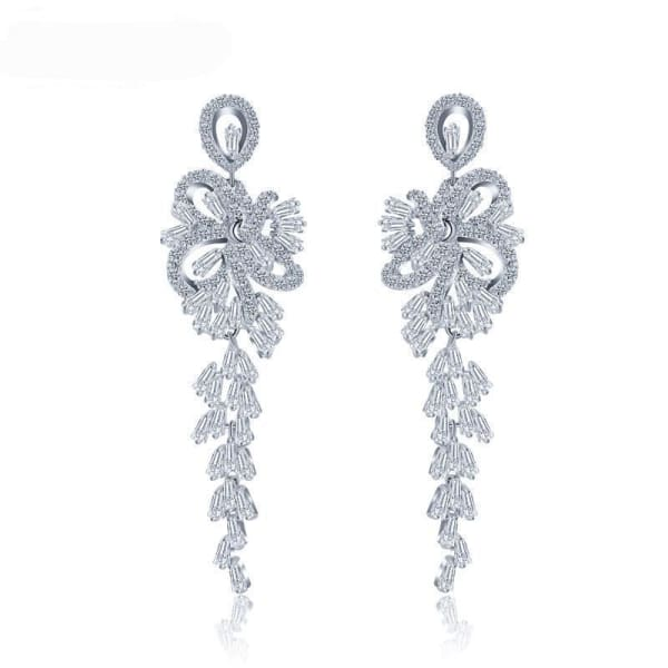 Crystal Chandelier Earrings - Chandelier Earrings