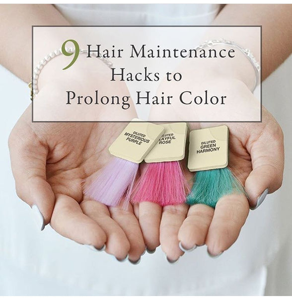 9 Hair maintenance hacks to prolong hair color