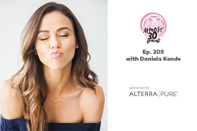 Alterra Pure is proud to sponsor @almost30podcast once again, this time with Daniela Kende