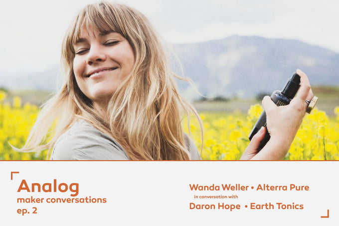 Daron Hope of Earth Tonics: <BR/>Analog | Maker Conversations