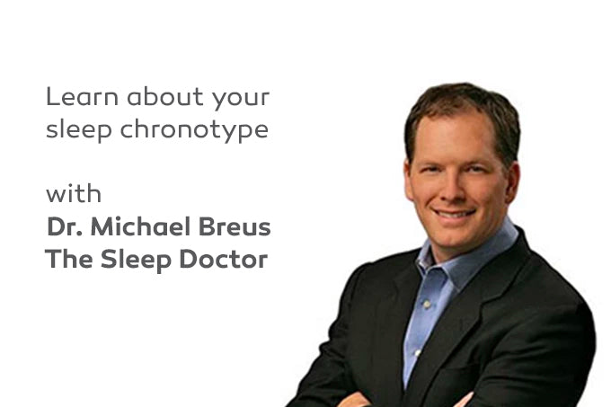 Your Sleep Type - Identify your Chronotype with Dr. Michael Breus, The Sleep Doctor