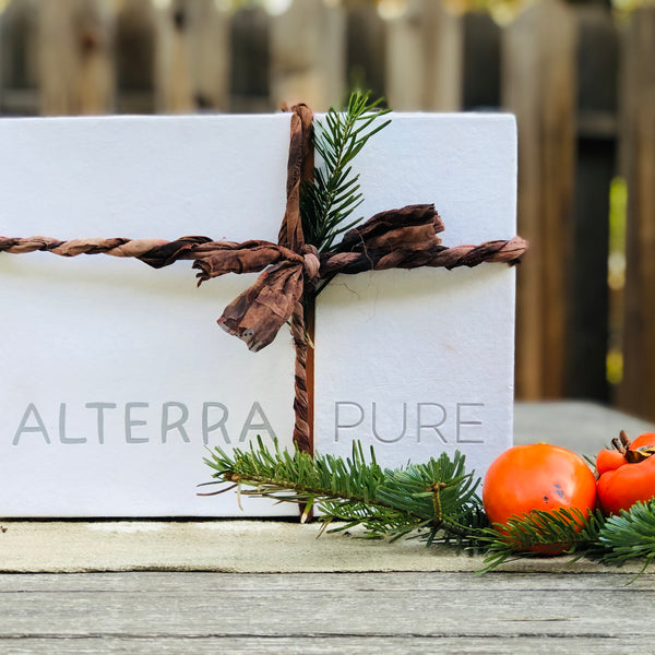 alterra pure organic cotton sheets make the perfect gift for birthday, holiday, or just because.