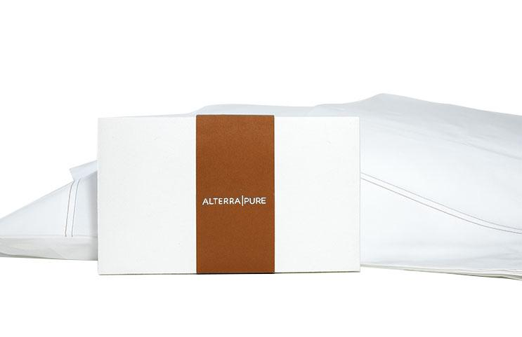 Alterra Pure King and Queen Size Pillow Cases