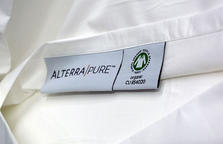 alterra pure is attentive to all details though our minimalist design is key to sustainability and eco-friendly sheets