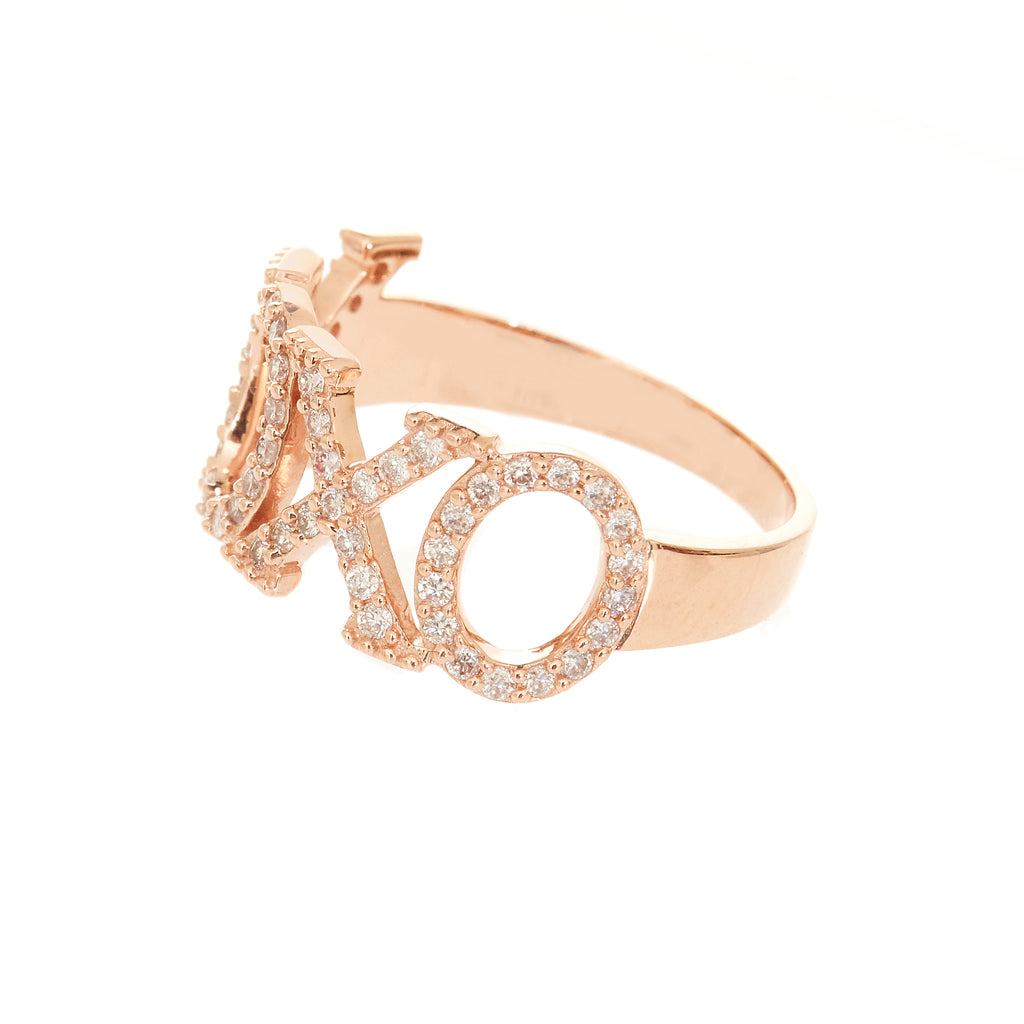 XOXO Diamond  Ring