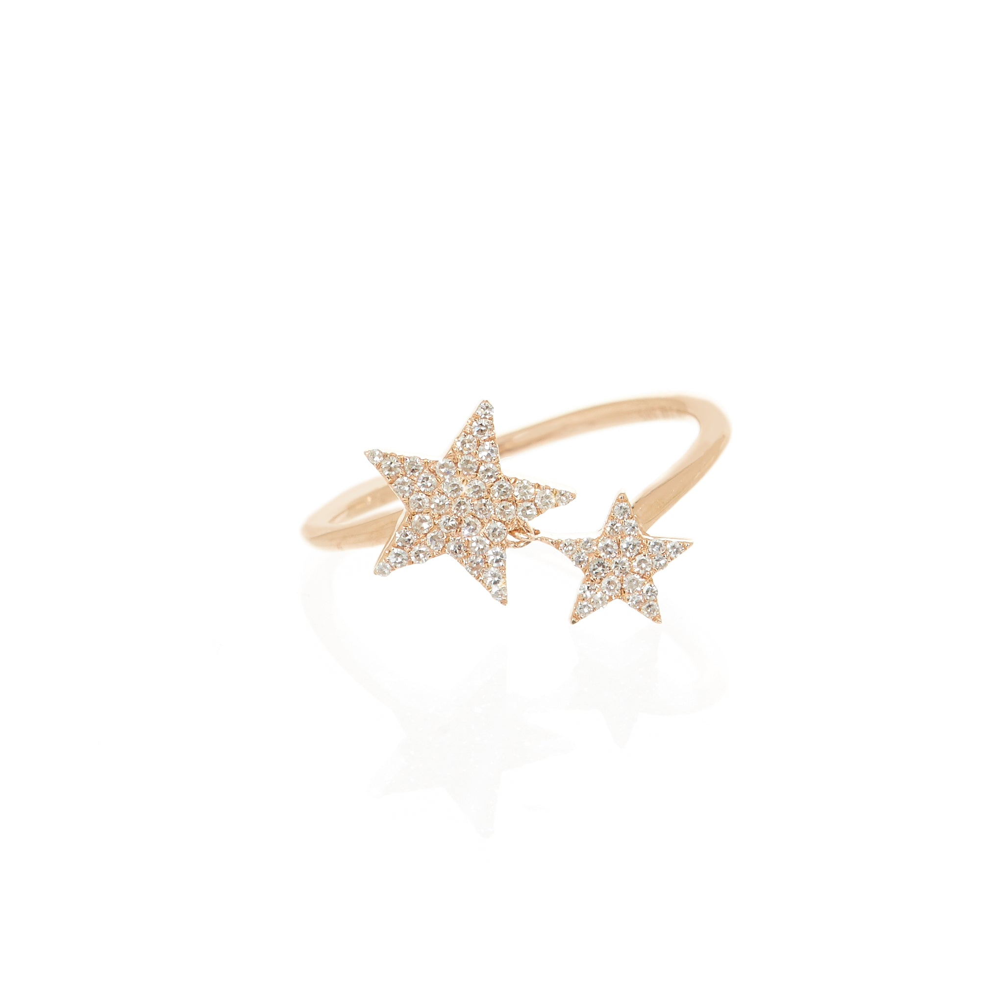 Emily Double Star Ring