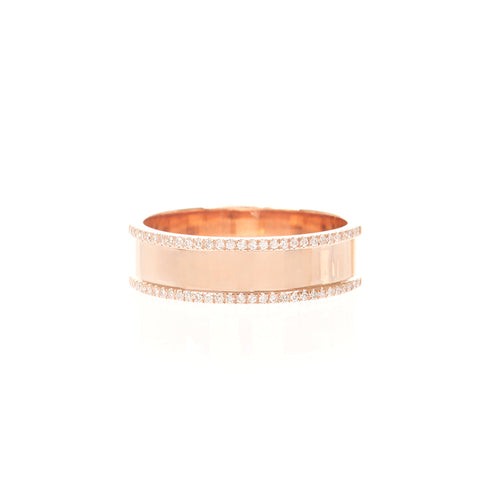 Diamond Flatwire Ring