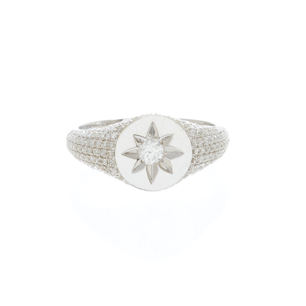 Jodie Sunflower Stamp Ring