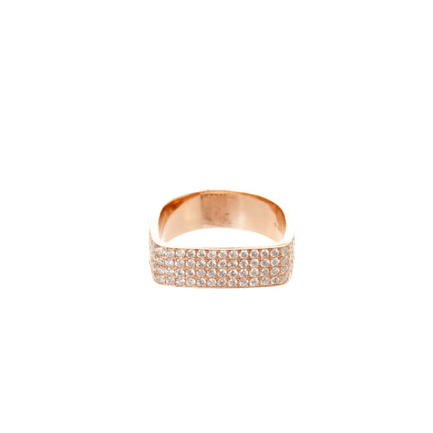 Crossroads Diamond Ring