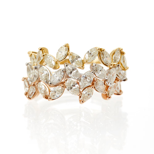 Tawny Diamond Ring