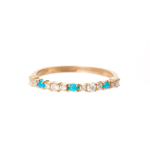 Basil Diamond Stacking Ring