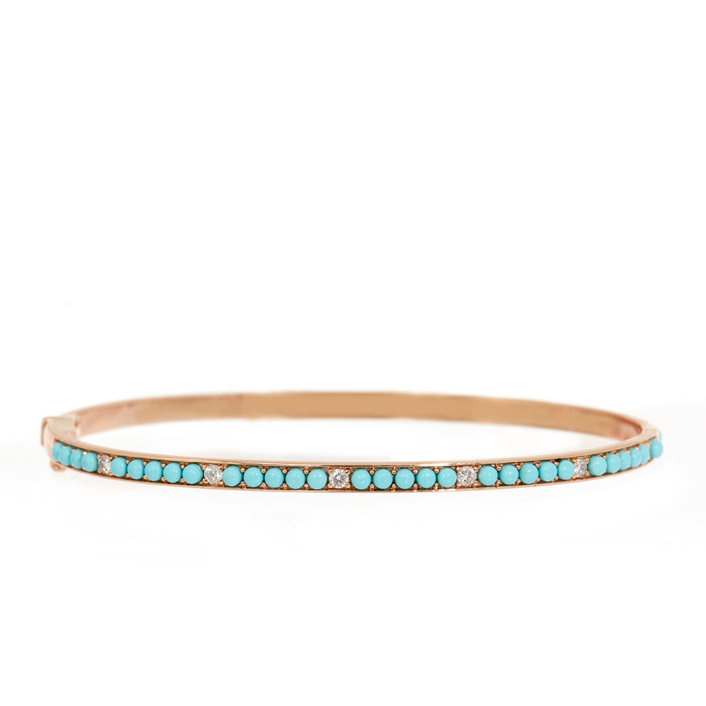Turquoise Sparkle Bangle
