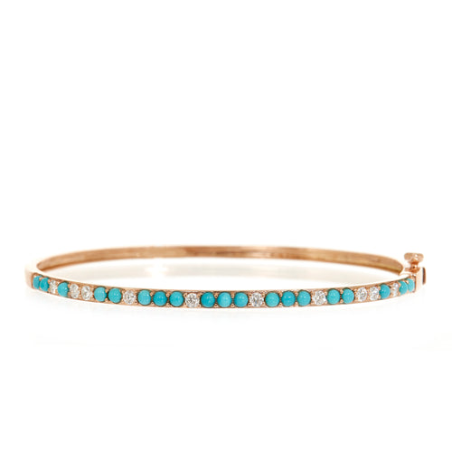 Demi Turquoise Sparkle Bangle