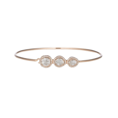 Single Slice Diamond Bracelet