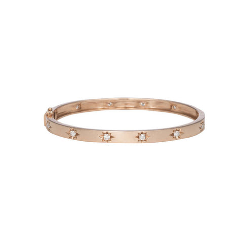 Diamond Slim Bangle