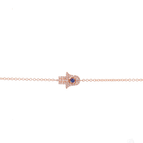 Nickel and Rose Anklet