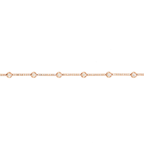 Diamond Bar Connect Bracelet